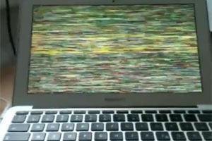 Apple Mac Book Air: Display Probleme und System Abstürze.