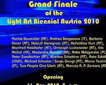 Großes Finale der Biennale für Lichtkunst Austria 2010