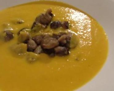 Neues aus der Suppenküche: Ein leckeres Rezept für eine herbstliche Karotten-Orangen-Ingwer-Suppe
