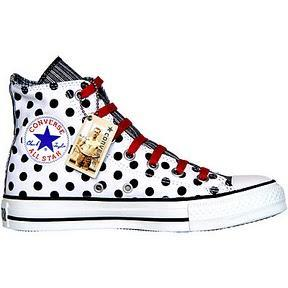 Converse All Star Chuck Taylor Winter Chucks 1U577 weiß White Polkadots Dots Punkte