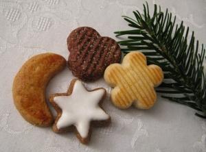 Zuckersüße Weihnachtsbäckerei mit Stevia