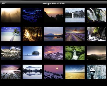 HD Wallpapers for iPad – Wunderschöne Hinergrundbilder fürs iPad