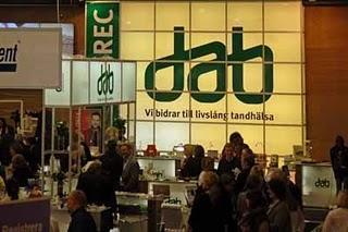 Swedental, eine Messe für Zähne in Göteborg