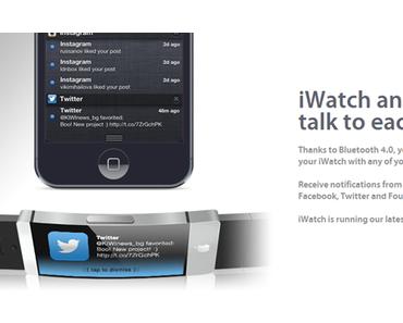 Apple iWatch: durchdachtes Konzept einer Apple Uhr! (Bilder)