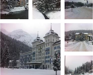 Kurztrip in die schöne Schweiz Teil 1 - St. Moritz, umgeben von  Luxushotels und High Society