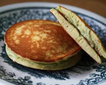Rezept: Dorayaki - japanische Pfannkuchen mit Matchacreme
