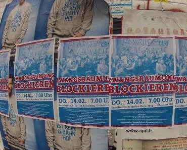 Berlin: Protest am Ende der Verwertungskette