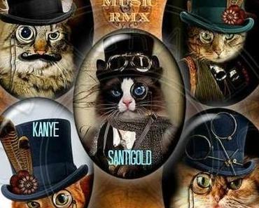 "Baauer, Santigold, Kanye West, Jay-Z, Big Sean – ""Clique"" (Chrome rework)"