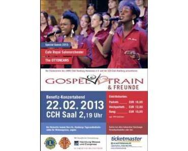 Gospel Train & Friends singen für den guten Zweck