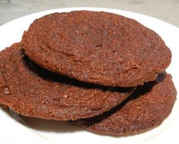 Schokolade-Malz-Cookies