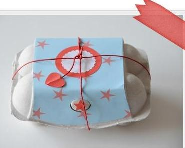 Muffins in Eierschachtel - muffins egg packaging