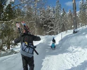 Sportferien in Braunwald: der Ski-Kindergarten