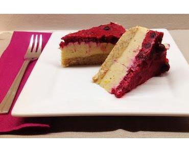 "Berry-""Cheese""cake (LowCarb, Roh und Vegan)"