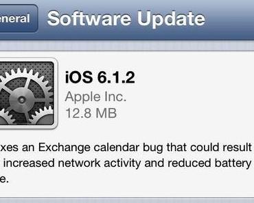 [Download] iOS 6.1.2 veröffentlicht, Jailbreak mit evasi0n v1.4
