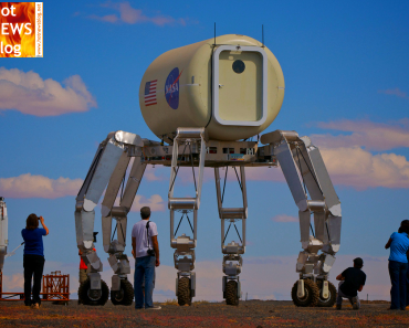 NASA baut neues Mondauto - den ATHLETE