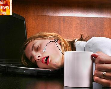 Müdigkeit bei der Arbeit? Tipps zum Munter werden