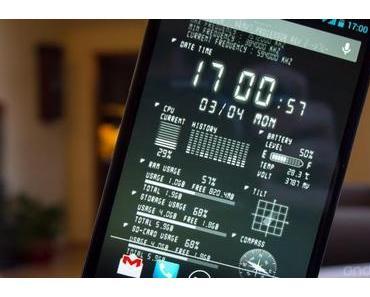 Device Info Ex Live Wallpaper: Alle Informationen auf dem Homescreen