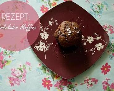 Rezept: Schokoladen Muffins