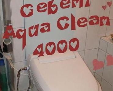 """Geberit Aqua Clean 4000 - Die Kabel sind """"verschwunden"""""""