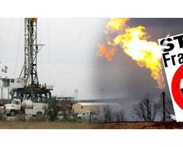 Fracking stoppen – öffentlichen Druck erhöhen!