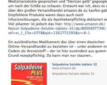 Medikamente bei Amazon
