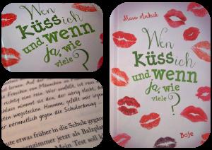 Blogg dein Buch: Wen küss ich und wenn ja wie viele?