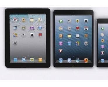 iPad 5 und iPad Mini 2 erst im Herbst 2013