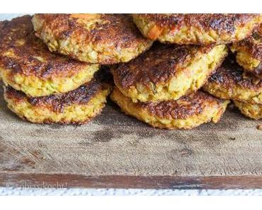 Cous-Cous Quark und Gemüse Burger