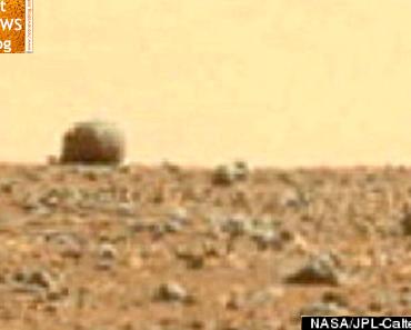 UFO`s auf dem Mars entdeckt?