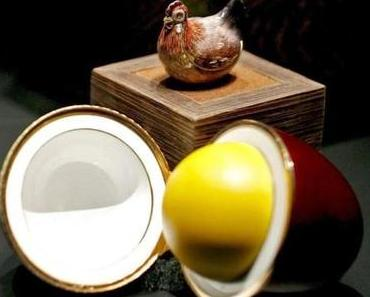Jeden Tag bis Ostermontag ein anderes Fabergé-Ei!
