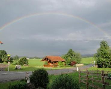 Der Schatz am Ende des Regenbogens bist Du!