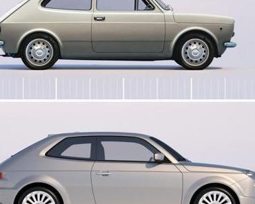 Fiat 127 Concept Car von David Obendorfer