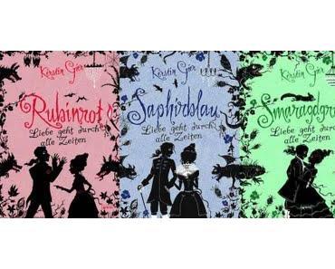 Rubinrot/Saphirblau/Smaragdgrün - Kerstin Gier