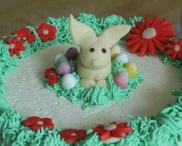 Oster-Torte 2: Joghurt-Cranberrie-Torte