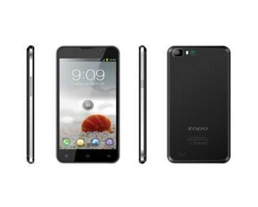 ZOPO ZP980: das Smartphone mit dem dünnsten Display-Rahmen der Welt?