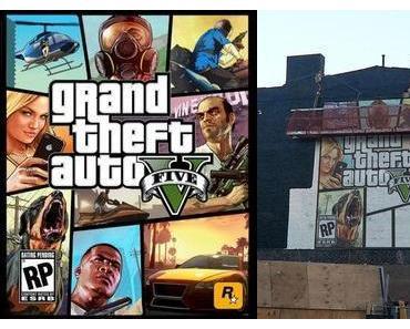 Rockstar enthüllt GTA 5 Cover