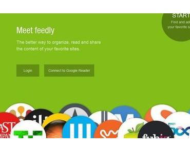 [Blog-News] Google-Reader Alternative: Feedly