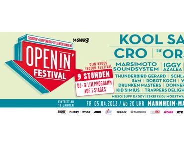 Openin Festival Mannheim – Die Saison ist eröffnet