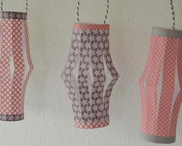 paper lantern - Papier Laterne DIY