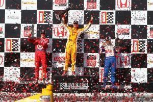 IndyCar: Hunter-Reay bricht die Penske Dominanz in Birmingham