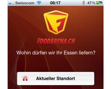 Foodarena – Die iOS-App zum Essen bestellen