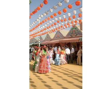 Die Sevillanische Feria de Abril 2013 steht in den Startlöchern