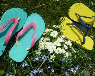 F wie Frühling oder Flip Flop-Fieber
