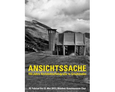 150 Jahre Architekturfotografie in Graubünden