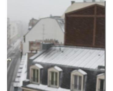 Paris bei Schnee und Rückreise (Tag 4)