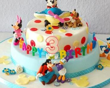 """""""Mickey Mouse Torte"""" und ein give away"""