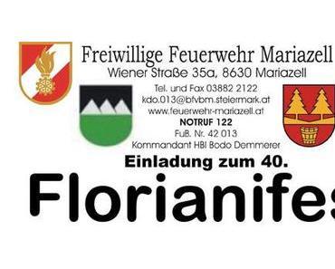 Einladung zum Florianifest der FF-Mariazell 2013