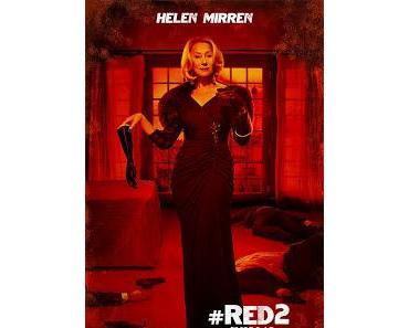 R.E.D. 2 : Weiter geht die Poster-Show