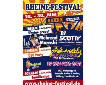 Mehrzad Marashi heizt beim dritten Rheine-Festival ein