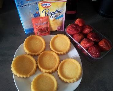 [Rezept] WW-taugliche Erdbeertörtchen